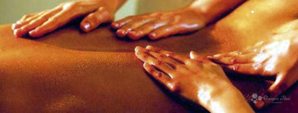 masaej a cuatro manos