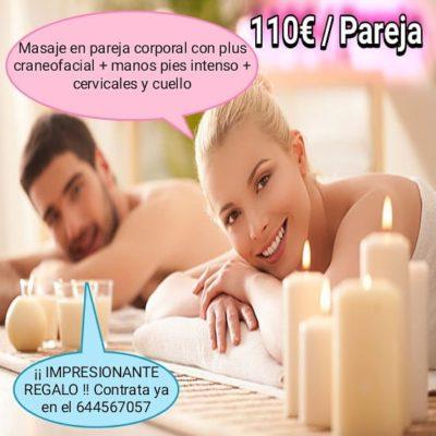 Masaje a parejas Tarragona